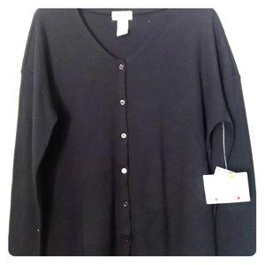 Wrangler women's button up sweater